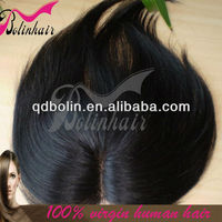 Hot Sell Brazilian Virgin Human Hair lace closures caps With Middle Parting
