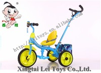 China new model 2 in 1 baby tricycle color EVA wheel children kids trike with safe belt/factory wholesale children tricycle
