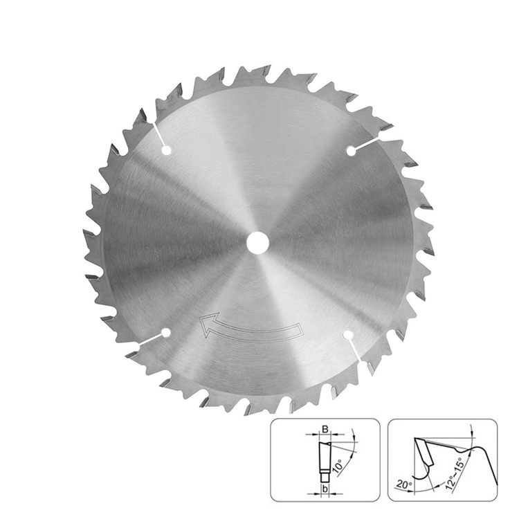 TCT Circular Rip Saw Blade for Wood Ripping Cutting
