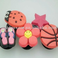Promotional Soft Pvc Shoe Charm Manufacturer