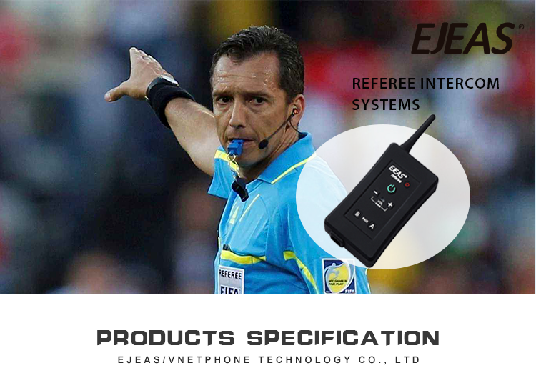 High quality football referee intercom system wireless bluetooth headset intercom