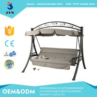 Adult garden swing/3 seatswing bed and canopy