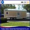 Mobile living room for sale prefabricated tiny home on wheels container houses with wheels design trailer houses