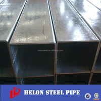 MS Square/Rectangular Steel Hollow Section Pipe/Tube Manufacturing