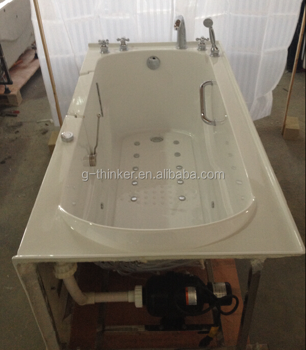 Cupc Safe Step Hydro Massage Walk In Bathtub Dual Massage With Seat Buy Wal
