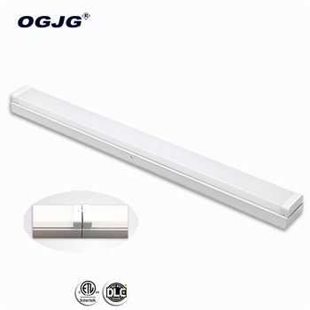 PC lens motion sensor wraparound batten fixture Apartment linear pendant lamp 2ft 4ft 5ft 8ft led office ceiling light