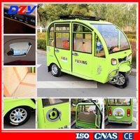 High performanceE reverse trike electric 3 wheel for passenger