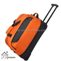 Wholesale unisex gender duffel cheap laptop trolley overnight bag