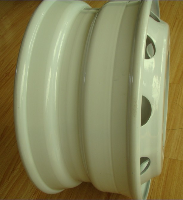 9.00x22.5 Truck Porcelain Painting Wheels, For 12R22.5 Tire