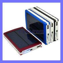 High Capacity 10000mAh Solar Mobile Phone Charger