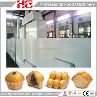 HG full automatic cake /biscuits/cookies tunnel baking oven