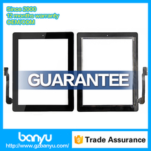 100% warranty for ipad mini tablet spare parts tablet touch screen
