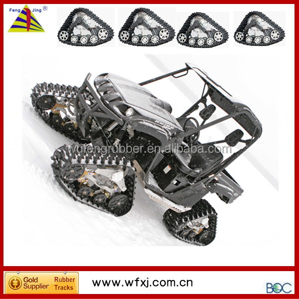 linhai atv parts rubber track kits