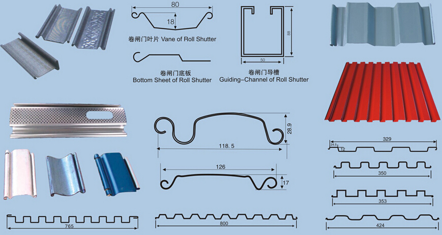 Top Manufacturer Metal Door Profiles Machinery Metal Door Jamb Roll-Former Line