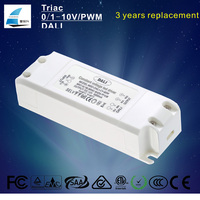 High pfc constant voltage led dali dimming driver 80W for dali system