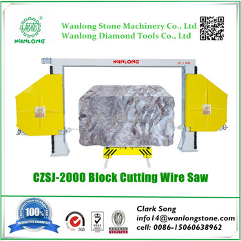 CZSJ-2000 Diamond Wire Saw Machine, Good Wire Saw Machine Price for ...
