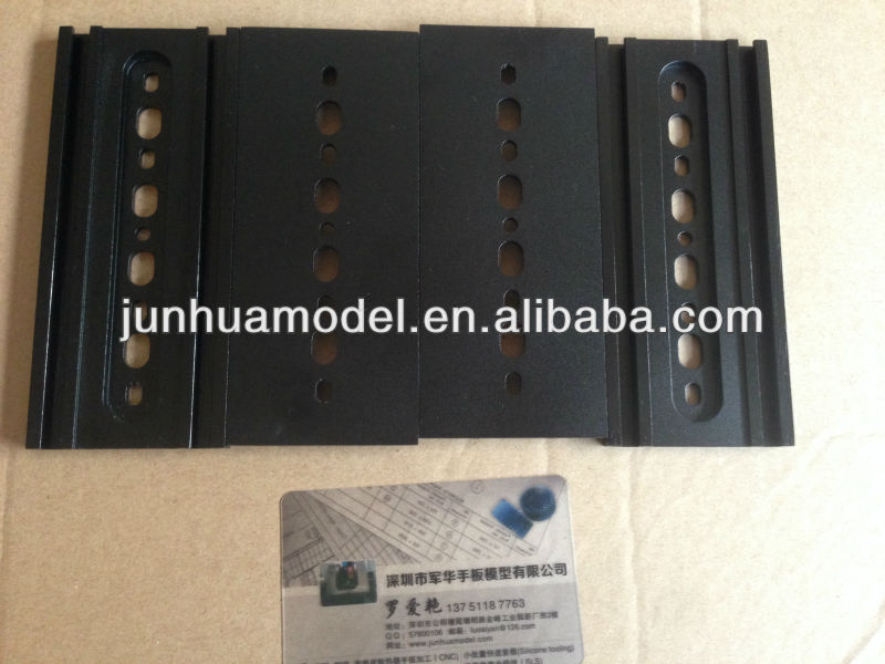 aluminum fabrication product/mechanical fabrication/black anodizing surface