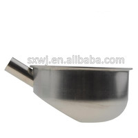 Round Stainless steel pig equipment Devices metal trough
