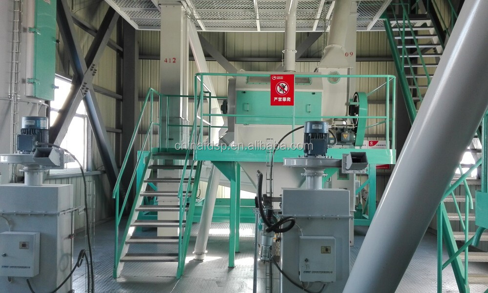 Siemens motor animal feed block pressing machine