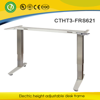 Healthy adjustable metal frame & modern design ergonomic stand up desk & Montpellier electric height adjustable table