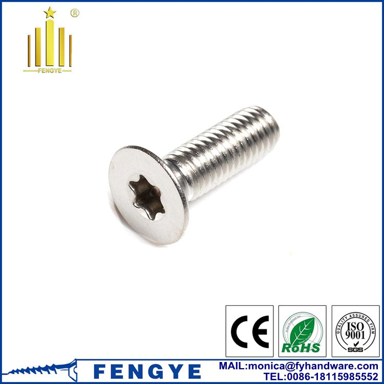 <strong>Stainless</strong> <strong>Steel</strong> 304 Torx Socket Head Machine Screw