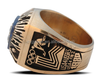 handmade Customize hockey championship ring