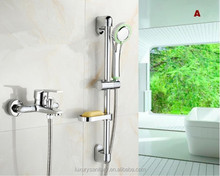 Bathroom simple Bath & Shower Faucets with sliding bar holder