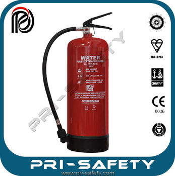 9L water fire extinguishers, CE and EN3 extintor estintore