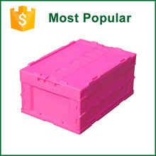 New Design Foldable Supermarket Use Transport Crates For Fruits And Vegetables