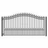 China wholesale home garden gates and steel fence design