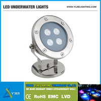 YJS-0003 IP68 surface mounted 4W LED underwater marine light for dock