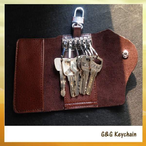 Factory outlet Fasioin Genuine Leather Key Bag Holder for Wholesale KH 003