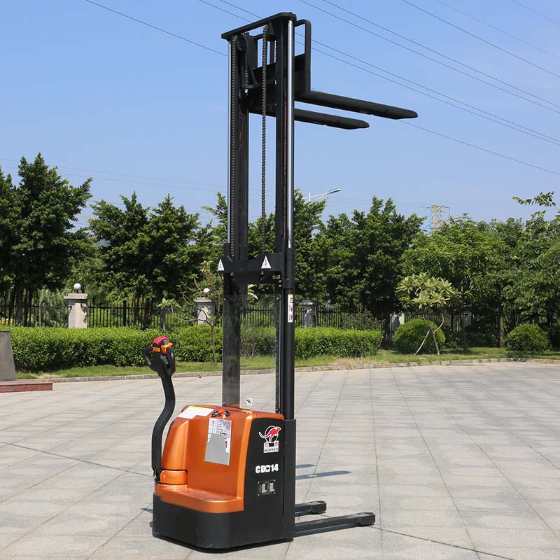 Handling Equipment 1.2t-1.4t-1.6t Electric Pallet Stacker (CDD14)
