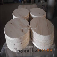 Spruce Edge Glued Round Table Top