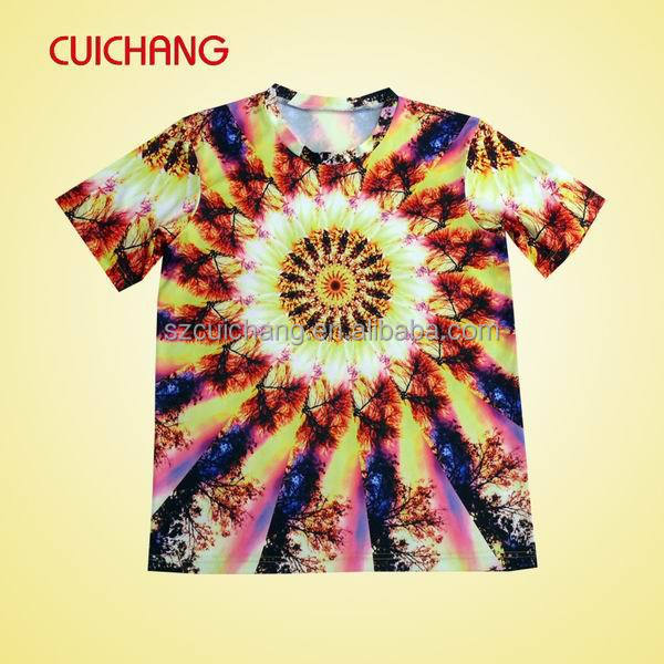 T Shirt Sublimation All Over Sublimation Printing T Shirt