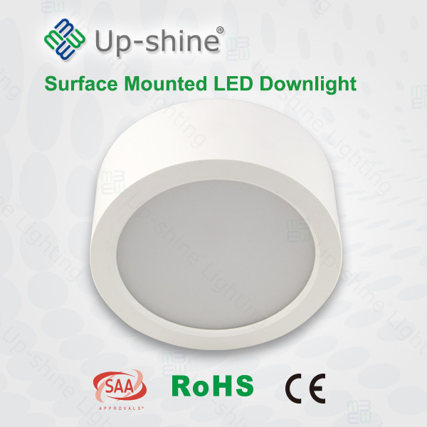 Best price high brightness CE Rohs SAA SMD waterproof cylinder 3000K ceiling mounted led light fixtures