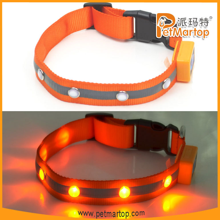 hot selling 2016 amazon Pet Accessories Led Dog Collar Pets