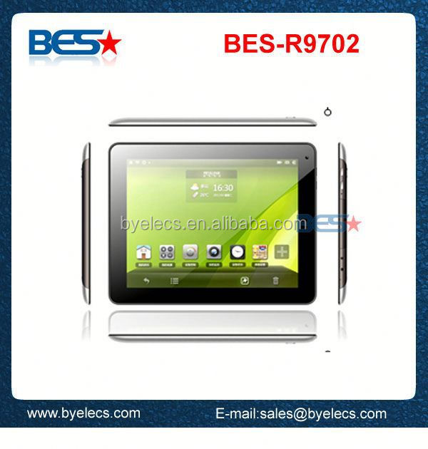 Shock resistant Bluetooth two camera wholesale pocket tablet