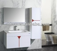 Modern hanging bathroom cabinets french bathroom vanity cabinet HH-808017