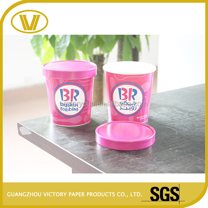 disposable paper wholesale fancy ice cream cups