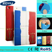 HOT Zoyu RICH Coloured pattern, high quality Auto Wake up Sleep case for Ipad mini 4