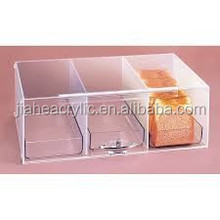 dongguan factory direct selling acrylic bakery display case