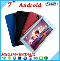 "Hot Selling 7"" 3G Tablet Pc With Dual Sim Card, 3G Tablet Pc Call Support FM Bluetooth GPS"