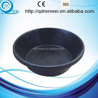 Round Rubber Feed Tub Rubber water Bucket