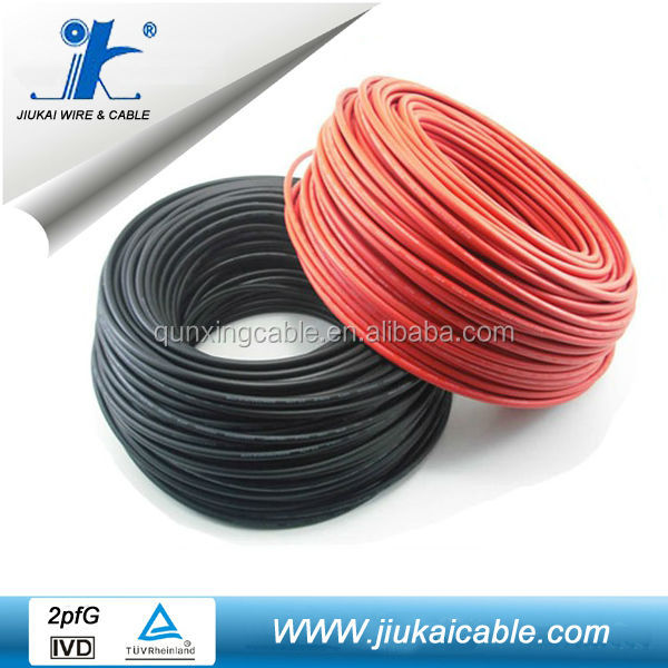 TUV Poly/mono 300w PV panel cable 4mm2 6mm2 10mm2 16mm2 solar cable