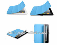 Foldable Stand Case Magnetic Protective Polyurethane Smart Case Cover for iPad Air