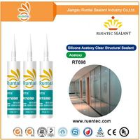 Clear Structural Silicone Sealant,Acetoxy Silicone Sealant-300ml