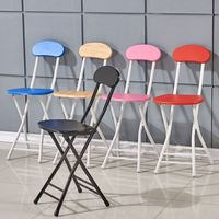 online wholesale cheap price used Portable Metal/plasic frame Baby Folding Chair outdoor metal bar stool metal folding chair