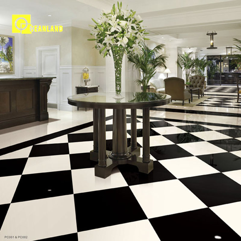 2018 wholesale super white nano ceramic floor tile