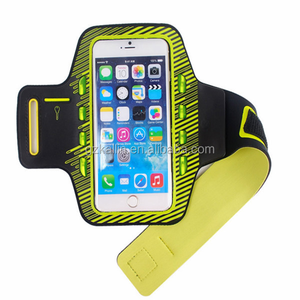 5.5 inch mobile phones running reflective led armband for iphone 6